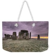 Dawn Over The Stones  Weekender Tote Bag