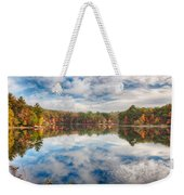Dawn Reflection Of Fall Colors Weekender Tote Bag