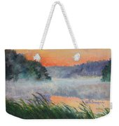 Dawn Reflection Study Weekender Tote Bag