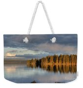 Dawn Reflections On Pelican Bay Weekender Tote Bag