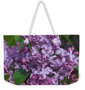 Dawns Lilacs Weekender Tote Bag