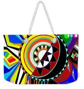 Day And Night Weekender Tote Bag