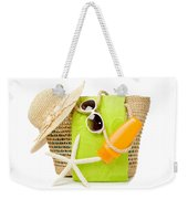 Day At The Beach Weekender Tote Bag by Amanda Elwell