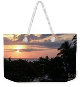 Day Is Almost Done Weekender Tote Bag