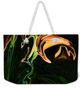 Day Lily At Night Weekender Tote Bag