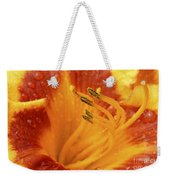 Day Lily In The Rain - 688 Weekender Tote Bag