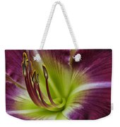 Day Lily Intimate Weekender Tote Bag