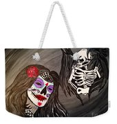 Day Of The Dead Good Vs Evil Weekender Tote Bag