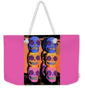 Day Of The Dead Ink Weekender Tote Bag