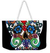 Day Of The Dead Skull Weekender Tote Bag