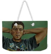 Day Portrait Of A Young Man Weekender Tote Bag