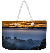 Daybreak Coming To The Smoky Mountains E150 Weekender Tote Bag