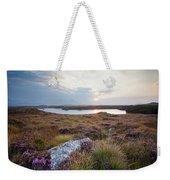 Daybreak Over Connemara Bog Weekender Tote Bag