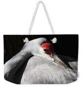 Daydreaming Sandhill Crane Weekender Tote Bag
