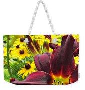Daylilies And Rudbeckia Weekender Tote Bag