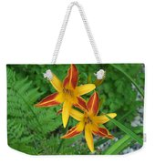 Frans Hall Daylily Attention Getter Weekender Tote Bag