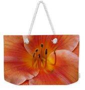 Daylily Bloom Weekender Tote Bag