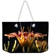 Daylily Doubled Weekender Tote Bag