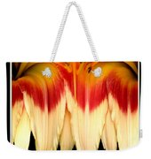 Daylily Flower Abstract 2 Weekender Tote Bag