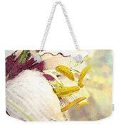 Daylily Photoart With Verse Weekender Tote Bag