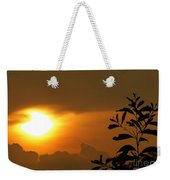 Day's Done My Sun Weekender Tote Bag