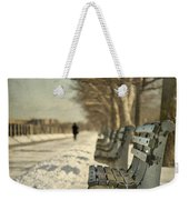 Days Of Cold Chills Weekender Tote Bag