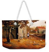 Days Of Discovery Weekender Tote Bag