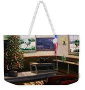Days Til Christmas Weekender Tote Bag