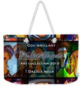 Dazzle Neck Art Collection Weekender Tote Bag