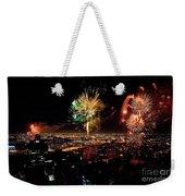 Dazzling Fireworks Iv Weekender Tote Bag