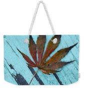 Dazzling Japanese Maple Leaf Weekender Tote Bag
