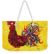 De Colores Rooster Weekender Tote Bag