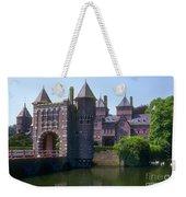 De Haar Castle And Moat Weekender Tote Bag