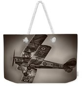 De Havilland Dh-82a Tiger Moth V5 Weekender Tote Bag