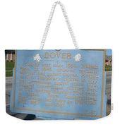 De-kc37 Dover Weekender Tote Bag