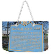 De-kc51 Delaware State Fair Weekender Tote Bag