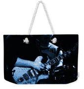 Dead #11 In Blue Weekender Tote Bag