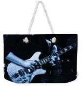 Dead #13 In Blue Weekender Tote Bag