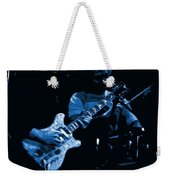 Dead #19 Art In Blue Weekender Tote Bag