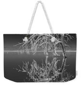 Dead Arch Black And White Weekender Tote Bag