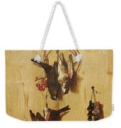Dead Birds Oil On Canvas Weekender Tote Bag