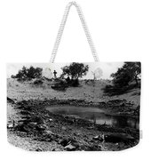 Dead Cattle Contaminated Water Hole Once In 100 Year's Drought Near Sells Arizona Tohono O'odham  Weekender Tote Bag