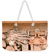 Dead Dove Decomposing In Railway Track Weekender Tote Bag