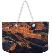 Dead Horse Point Sunrise Panorama Weekender Tote Bag