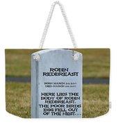 Dead Robin Weekender Tote Bag