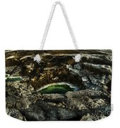 Dead Sea Sink Holes Weekender Tote Bag by Dan Yeger