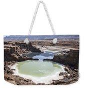 Dead Sea Sinkholes  Weekender Tote Bag
