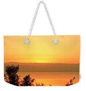 Dead Sea Sunset Weekender Tote Bag