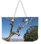 Dead Tree At Grand Canyon South Rim Weekender Tote Bag