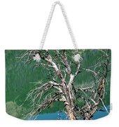 Dead Tree At Green River Lakes -wyoming Weekender Tote Bag